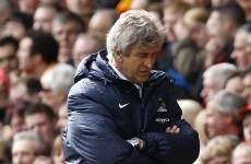 City boss Pellegrini vows to continue title fight