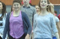 An Irish dancing flashmob took over Shannon Airport
