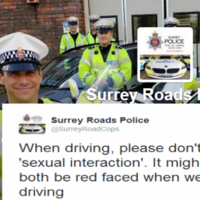 Surrey Roads Police's tweets give Garda Traffic a run for their money