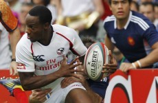 VIDEO: Carlin Isles shows off his blistering pace in Glasgow colours