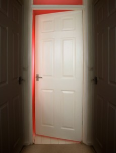 The Burning Question*: Should the door be open or closed in the bedroom as you sleep?