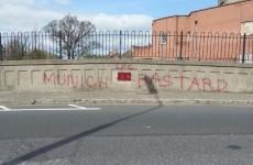 Bohs volunteers clean up vandalised bridge dedicated to Liam Whelan who died in Munich Air Disaster