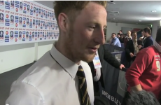 Ireland's Stephen Quinn describes scoring in the FA Cup semi-final