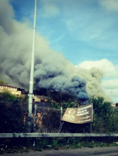 No reports of injuries, following dramatic-looking Cork blaze