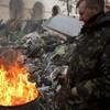 Ukrainian leader says Russia wants to set southeast 'on fire'