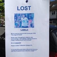 Missing: Have you seen Erik Lamela lately?