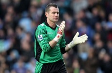 Shay Given promoted to Villa coaching staff as club suspend Lambert assistant