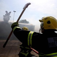 See the smoke over Marino today? Don't worry, it was just Dublin's newest firefighters showing off their skills