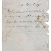 The handwritten order to call off the 1916 Rising sold at auction for €30,000