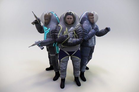 The three suits