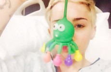 Miley Cyrus is in hospital and really hates the telly... it's The Dredge