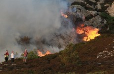Minister warns recent good weather means high risk of wildfires