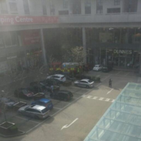 Five units of fire brigade at blaze in shopping centre car park