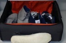 Over €100k worth of cocaine was found in these shoes at Dublin Airport...