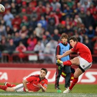 'It's another world out there', but Murray ready to fill Munster's number 10 jersey if needed