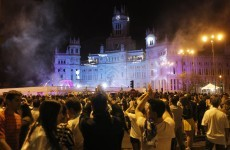 Real Madrid fans jam streets to celebrate Cup win