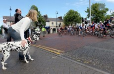 In pictures: Downing ahead of the bunch as Rás gets underway