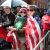 Thousands gather in Dublin city hours ahead of Obama's presidential address