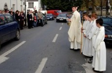 Roads in Mayo get prayers and blessings in a bid to reduce road deaths