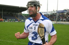 Waterford hurling legend Tony Browne has retired
