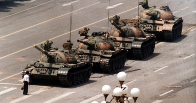 Chinese asked to fight for democracy as they remember Tiananmen Square