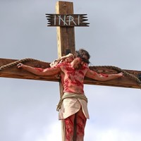 PHOTOS: A Limerick village re-staged Christ's crucifixion today - in stunning detail