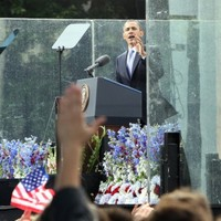 """Obama speaks in Dublin: """"Never has a nation so small inspired so much in another"""""""