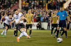Dundalk share spoils with Shamrock Rovers after Oriel Park thriller