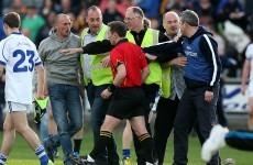 Ugly scenes as Garda escort referee off field after Dublin v Cavan