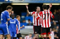 Advantage Liverpool as Sunderland stun Chelsea