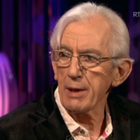 Shay Healy captured the nation's hearts on the Saturday Night Show