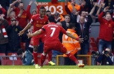 VINE: Raheem Sterling scores an absolute belter and sets up Suarez goal
