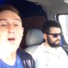 Three Irish lads in a van perform epic Tina Turner lip-sync