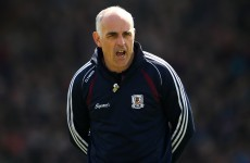 Anthony Cunningham wants the advantage rule introduced in hurling