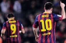 Messi winner keeps Barca's La Liga hopes alive