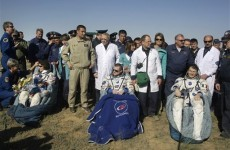ISS astronauts land safely after five months in space