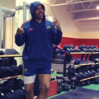 VINE: Simon Zebo's weight room dance is what Bank Holidays are all about