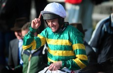 Barry Geraghty claims first Irish Grand National on Shutthefrontdoor