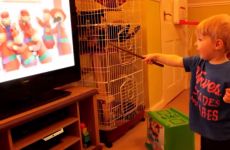 Parents trick toddler into thinking he's a wizard... and it's adorable