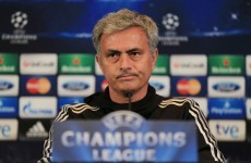 Mourinho threatens to play weakened Chelsea team against Liverpool