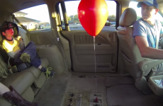 This simple experiment involving a balloon and a car will blow your mind