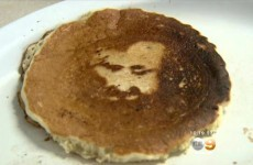 Woman sees the face of Jesus in her pancake on Good Friday