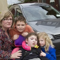 Family of child with cerebral palsy get replacement car after theirs was stolen and burnt out