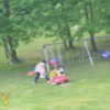 Heroic dad belts downhill to save daughter from speeding toy car