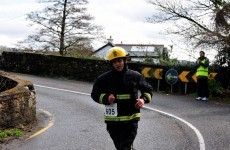 Run a marathon in steel-capped boots, overalls and helmet? Sign me up, says Cork fireman