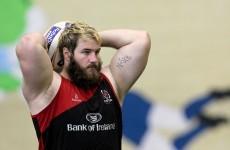 Ulster land Lions lock Van Der Merwe as McAllister commits to France