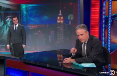 Stephen Colbert gatecrashes The Daily Show for his own hilarious 'best bits'