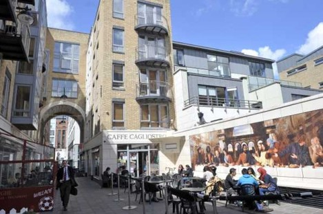 The Italian Quarter on Dublin's Ormond Quay is one of the three Wallace properties taken into receivership by ACC Bank.