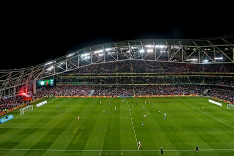 The Aviva Stadium will host the four games if the FAI's bid is successful.
