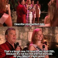 Today, 25 April, is the perfect date